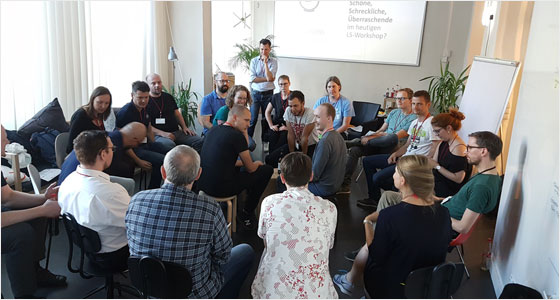 Workshops beim Developer Open Space